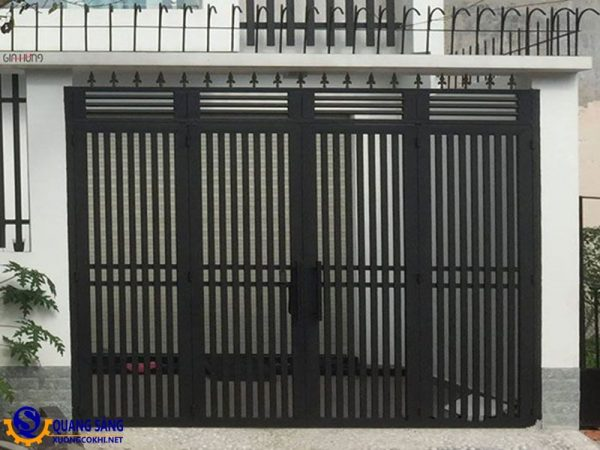 Cổng sắt Quang Sáng MCS-05