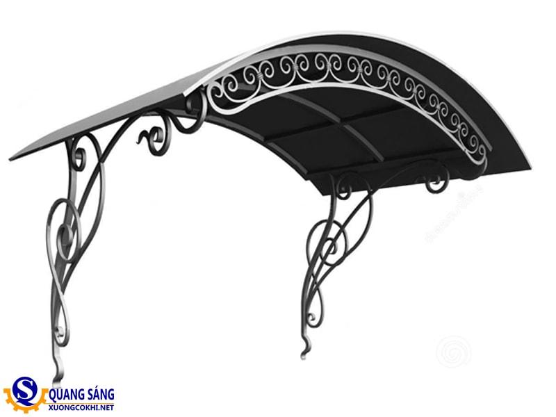 Mái hiên sắt Quang Sáng MHS-06