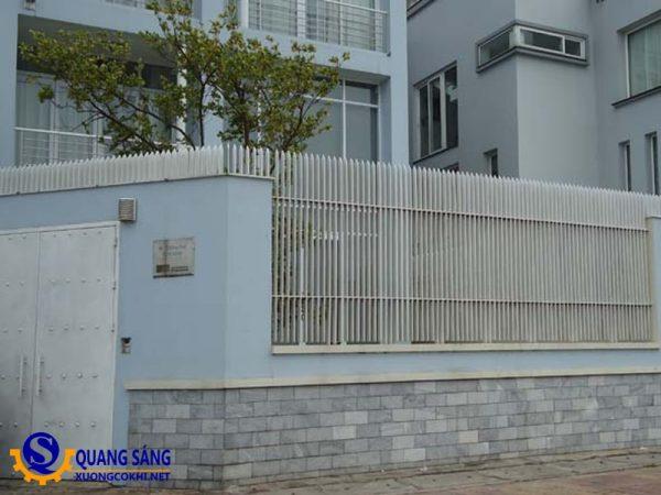 Hàng rào sắt Quang Sáng HRS-09