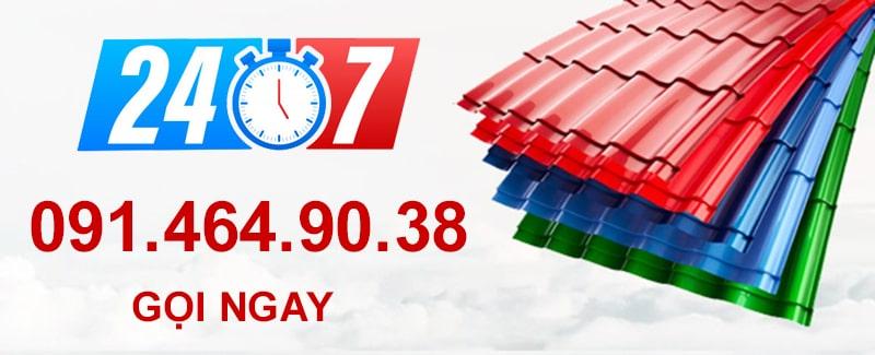 Báo giá làm mái tôn tại Hoàng Mai năm 2021 uy tín, chuyên nghiệp