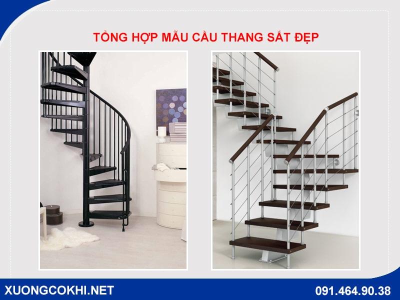 Top 100 mẫu cầu thang sắt đẹp