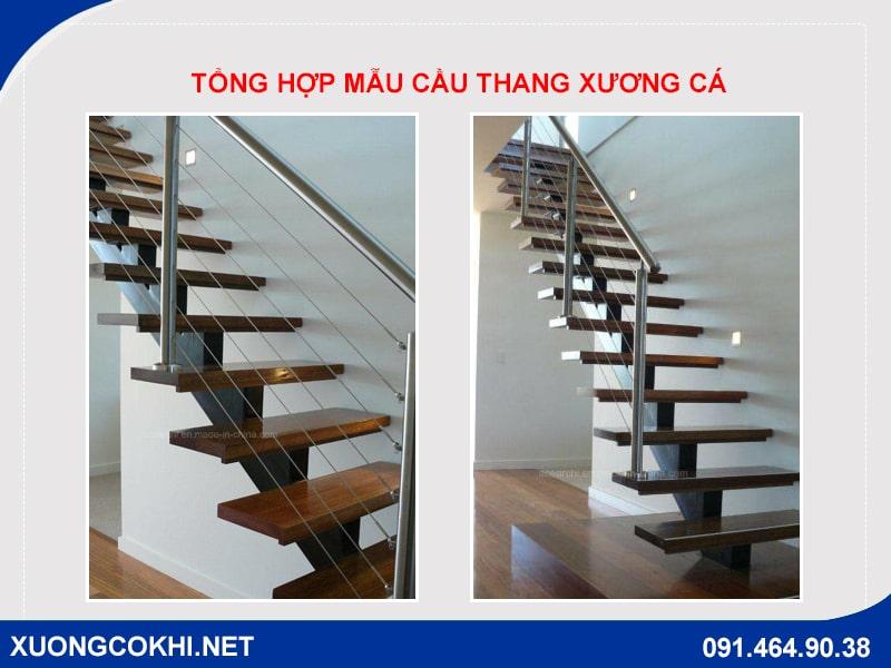 Top 50 mẫu cầu thang sắt xương cá đẹp