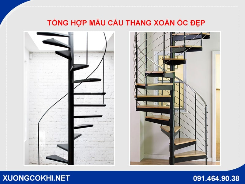 Top 50 mẫu cầu thang xoắn ốc đẹp